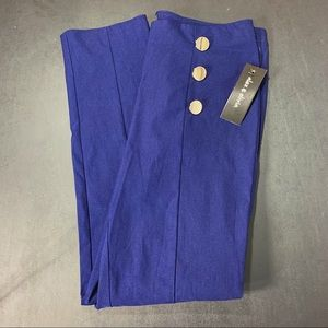 NWT Anthropologie Alex and olivia button pant